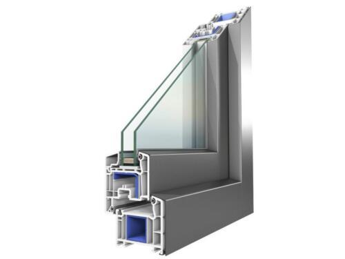 Профиль однокамерного пластикового окна