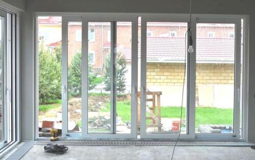 Раздвижные окна для террасы